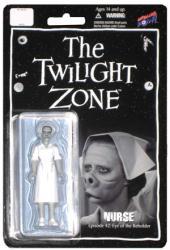 The Twilight Zone: Nurse 3 3/4'' action figure (Bif Bang Pow) B&W