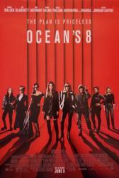 Ocean's 8 movie poster [Sandra Bullock, Cate Blanchett] 27x40 original
