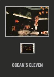 Ocean's Eleven 5'' X 7'' Senitype film cell [George Clooney]