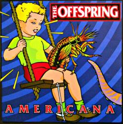 The Offspring poster: Americana vintage LP/Album flat