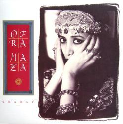 Ofra Haza poster: Shaday vintage LP/Album flat (1987)