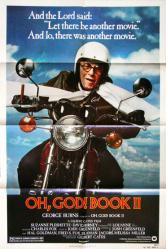 Oh, God! Book II movie poster [George Burns] 1980 original 27x41