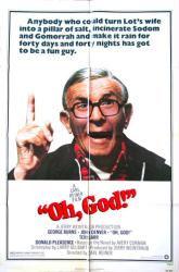 Oh, God! movie poster [George Burns] original 27x41 one-sheet