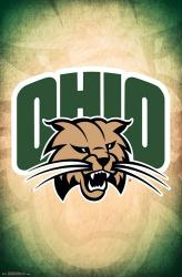 Ohio University Bobcats poster: Logo (NCAA) 22x34