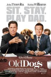 Old Dogs movie poster [John Travolta & Robin Williams] 2009
