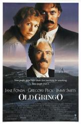 Old Gringo movie poster [Jane Fonda, Gregory Peck, Jimmy Smits] 27x41