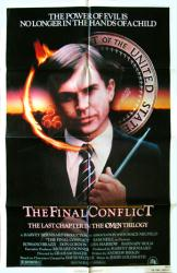 The Final Conflict movie poster [Sam Neill] original Omen III poster