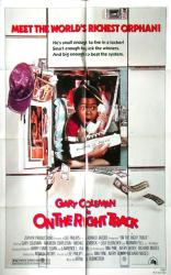 On the Right Track movie poster (1981) [Gary Coleman] original 27x41