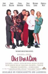 Once Upon A Crime movie poster /John Candy/Jim Belushi/Cybill Shepherd