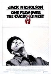 One Flew Over the Cuckoo's Nest movie poster [Jack Nicholson] 27x40