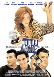 One Night at McCool's movie poster [Liv Tyler/Matt Dillon/Goodman]