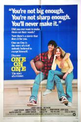 One On One movie poster [Robby Benson, Annette O'Toole] original 27x41