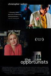 The Opportunists movie poster [Christopher Walken & Cyndi Lauper]