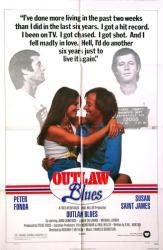 Outlaw Blues movie poster [Peter Fonda, Susan Saint James] 27x41