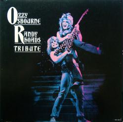 Ozzy Osbourne & Randy Rhoads poster: Tribute vintage LP/Album flat