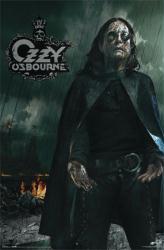 Ozzy Osbourne poster: Black Rain (22 1/2'' X 34'')