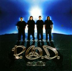 P.O.D. poster: Satellite vintage LP/Album flat (2001)