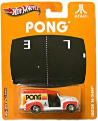 Hot Wheels Nostalgic Brands: Atari Pong Custom '52 Chevy diecast