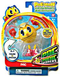 Pac-Man and the Ghostly Adventures: 'Pac' Pac Panic Spinner figure