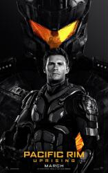 Pacific Rim: Uprising movie poster [Scott Eastwood] 27x40 advance