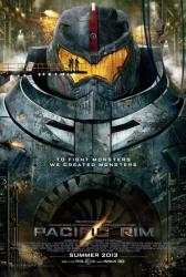 Pacific Rim movie poster [a Guillermo del Toro film] original 27 X 40