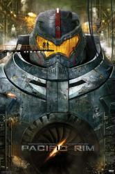 Pacific Rim movie poster [a Guillermo del Toro film] 24'' X 36''