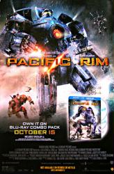 Pacific Rim movie poster [Guillermo del Toro film] 27x40 video version