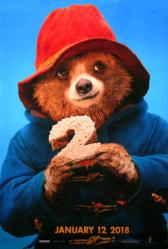 Paddington 2 movie poster (2017) original 27x40 U.S. advance