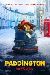 Paddington movie poster (2014) original 27x40 advance