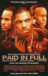 Paid In Full movie poster [Mekhi Phifer, Wood Harris, Cam'ron] 26x40