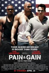 Pain & Gain movie poster [Mark Wahlberg, Dwayne Johnson] 27x40