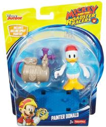 Mickey and the Roadster Racers: Painter Donald Duck figure (Disney)