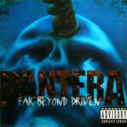 Pantera poster: Far Beyond Driven vintage LP/Album flat (1994)