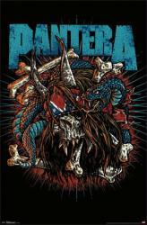 Pantera poster: Rocker Skull (22x34) Heavy Metal