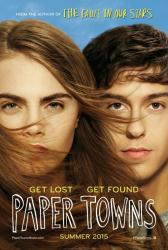 Paper Towns movie poster [Nat Wolff, Cara Delevingne] original 27x40