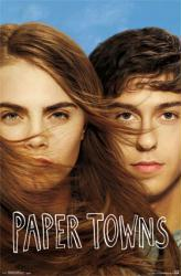 Paper Towns movie poster [Nat Wolff, Cara Delevingne] 22x34