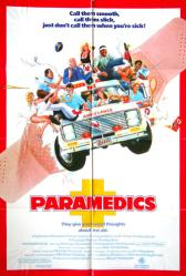 Paramedics movie poster [Christopher McDonald] original 27x41