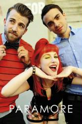 Paramore poster: Group Shot (24'' X 36'') New