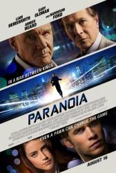 Paranoia movie poster [Liam Hemsworth/Gary Oldman/Harrison Ford] 27x40
