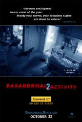 Paranormal Activity 2 movie poster (advance teaser)