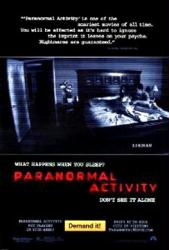 Paranormal Activity movie poster (2007)