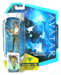 Avatar [Level 1] Parker Selfridge action figure (Mattel/2009)