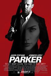 Parker movie poster [Jason Statham & Jennifer Lopez] original 27 X 40
