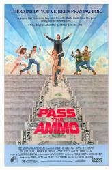 Pass the Ammo movie poster [Tim Curry] 1988 original 27x41