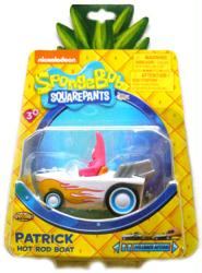 Spongebob Squarepants: Patrick Hot Rod Boat pull back vehicle (NKOK)