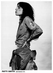 Patti Smith poster: Amsterdam, May 1976 (23 1/2'' X 33'') New