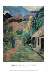 "Paul Gauguin art print: Mountain Road (23 1/2"" X 31 1/2"" art print)"