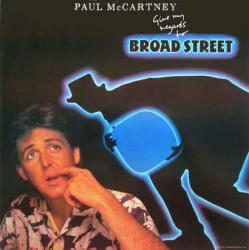 Paul McCartney poster: Give My Regards to Broad Street LP/Album flat