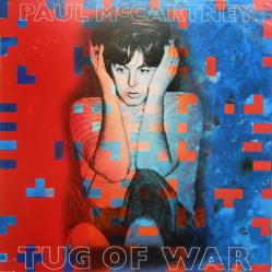 Paul McCartney poster: Tug of War vintage LP/Album flat