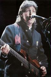 Paul McCartney poster: Live On Stage (24'' X 36'') New